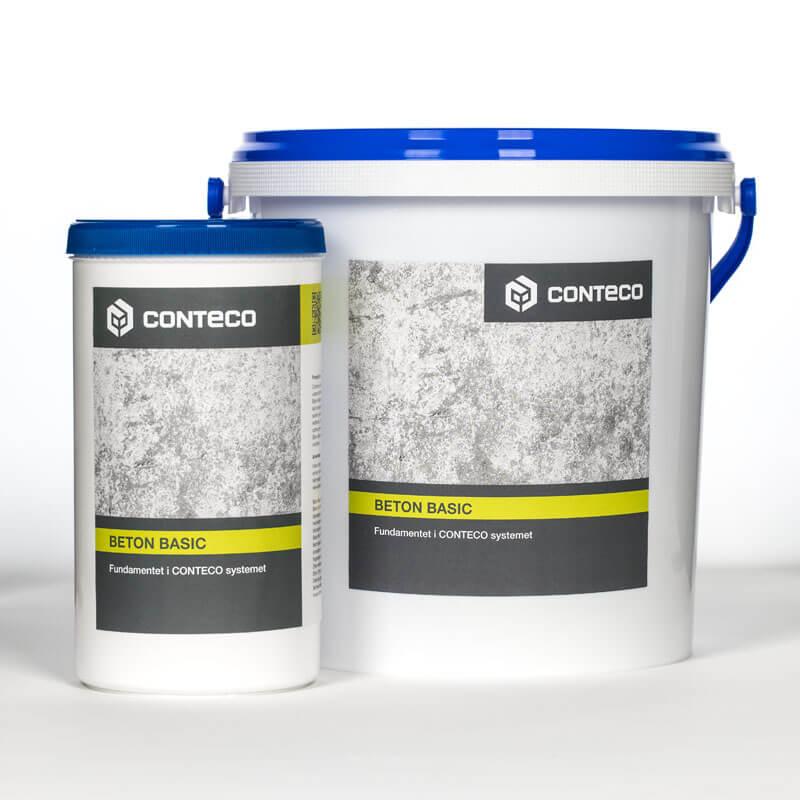 Conteco beton basic bøtter, fundamentet i conteco systemet