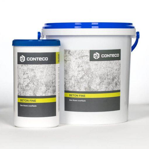 Conteco beton fine til de fine overflader