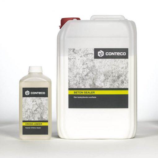 Conteco beton sealer og cross-linker, der hærder og beskytter dine betonoverflader