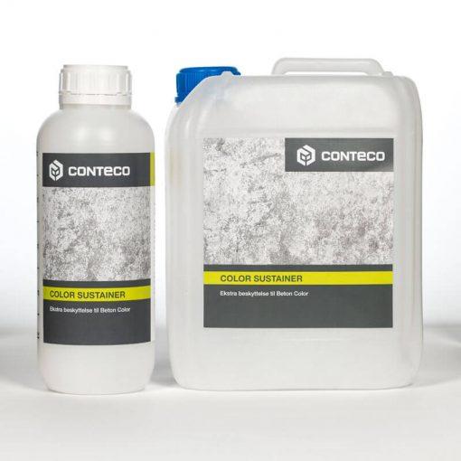 Conteco color sustainer, ekstra beskyttelse til beton color
