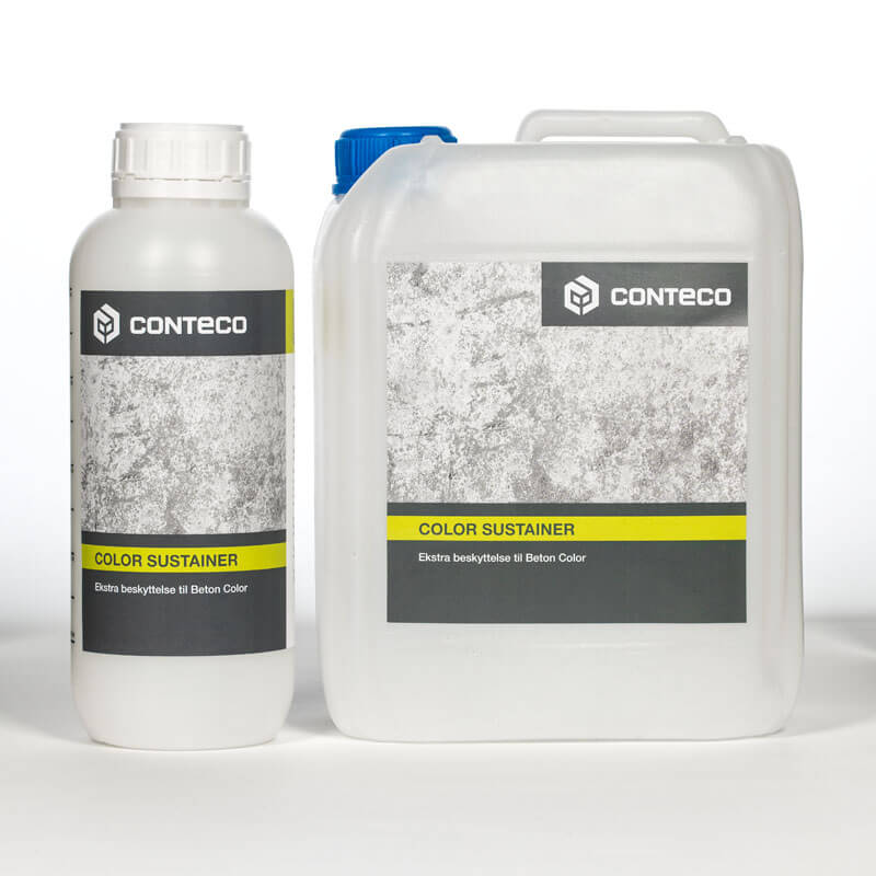 Conteco color sustainer, ekstra beskyttelse til beton color