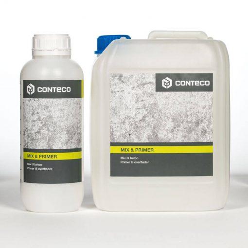 Conteco mix priser, mix til beton, primer til overflader