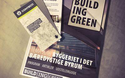 Building Green 2016 – Præsentation af Conteco – Beton til din bolig!