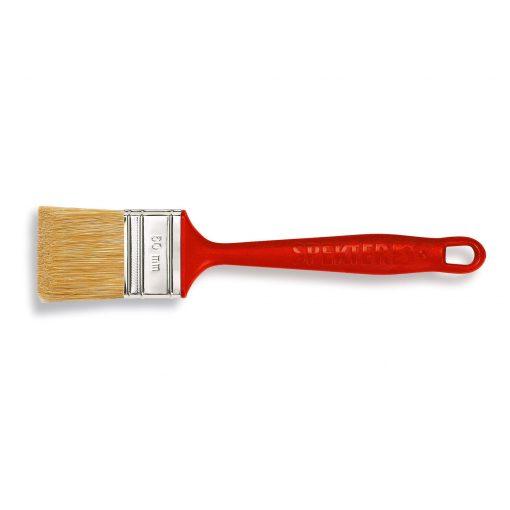 Rød flad pensel 35 mm / 70 mm