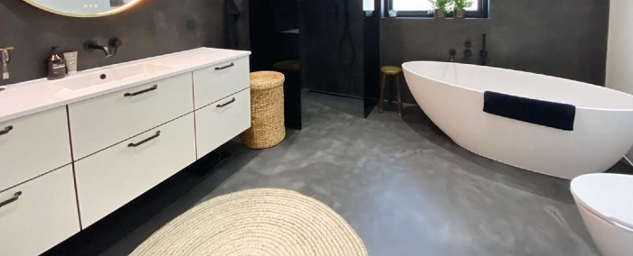 Gør det selv cementgulv på badeværelset