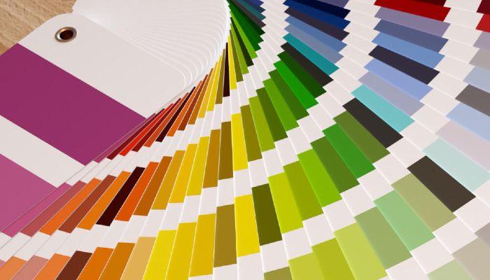Alle betonfarver til sammenligning med microcement